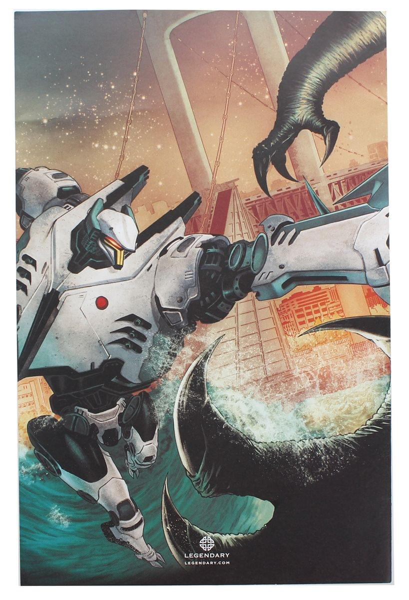 Pacific Rim: Tales From The Drift #1 (Comic Block Exclusive Cover)
