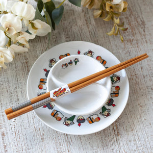 Street Fighter Sushi Set with Chopsticks
