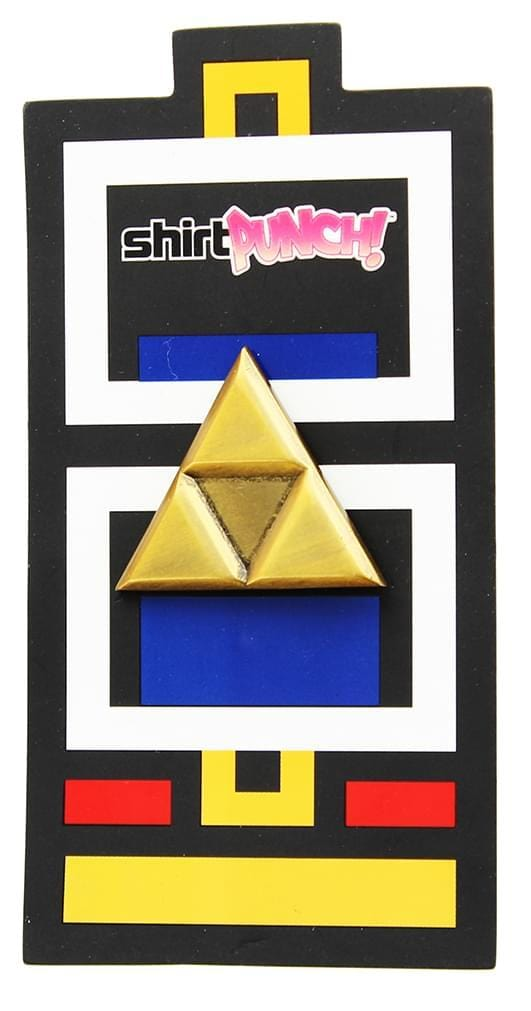 Legend of Zelda Bronze Triforce Pin