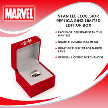 Load image into Gallery viewer, Stan Lee Excelsior Replica Ring Limited Edition Box