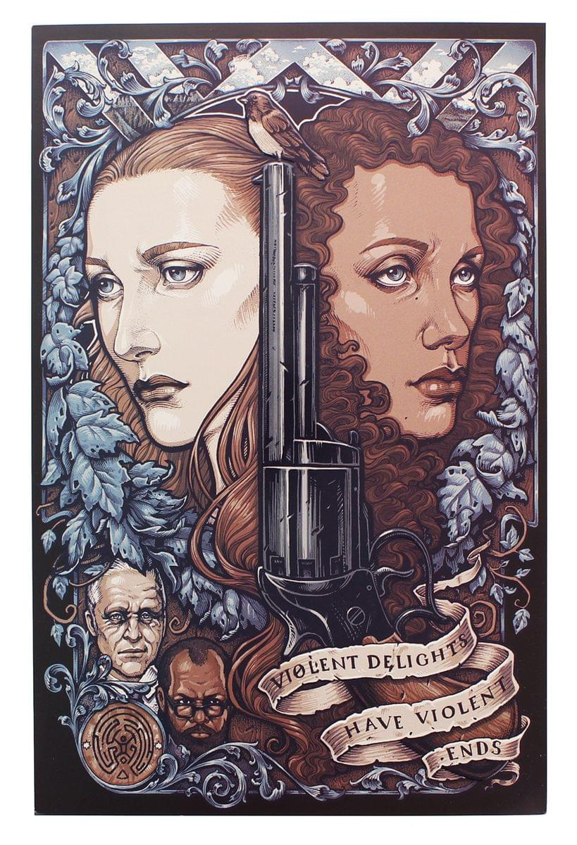 WestWorld 8x10 Art Print (Nerd Block Exclusive)