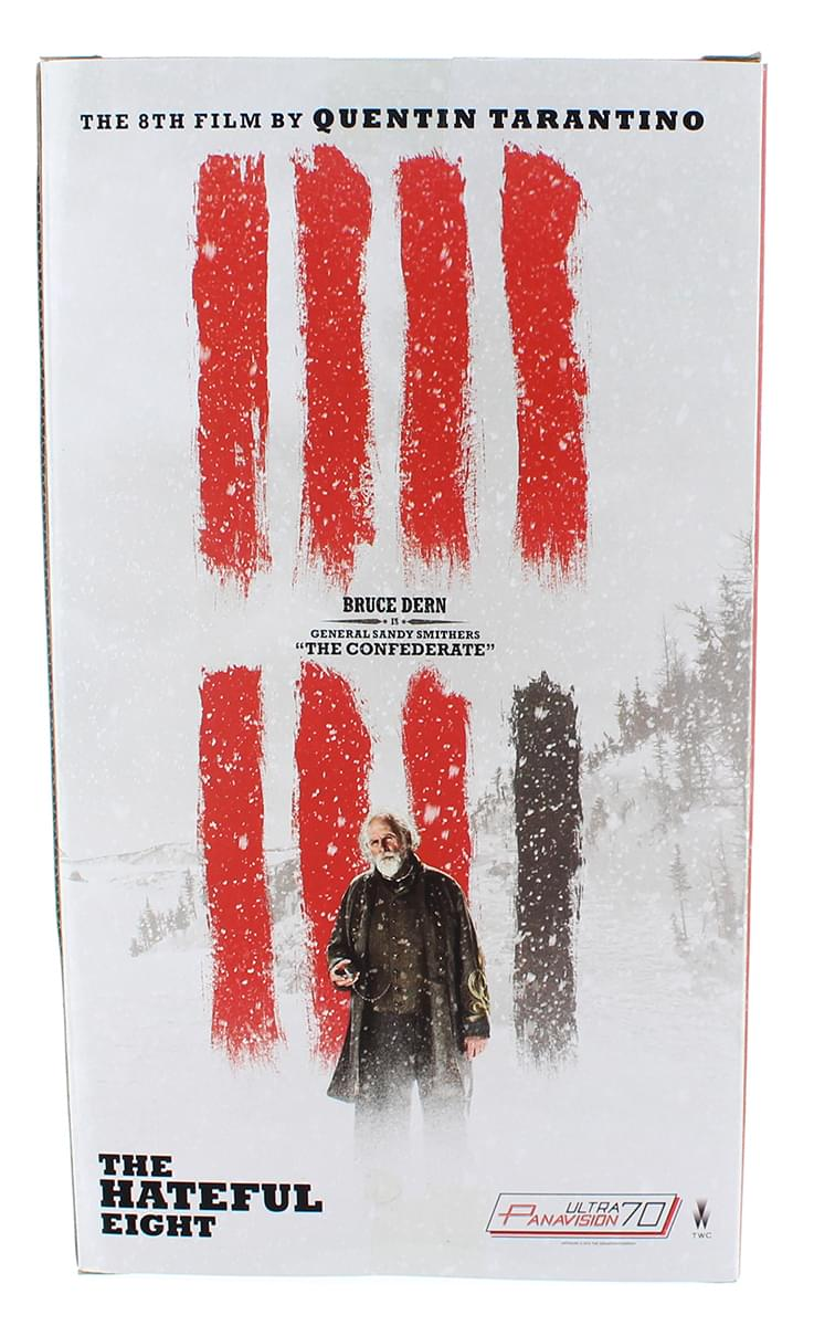 "The Hateful Eight 8"" Figure: Gen. Sandy Smithers ""The Confederate"""