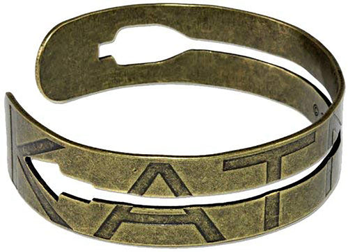 Hunger Games Catching Fire Cutout Arrow Metal Cuff Bracelet