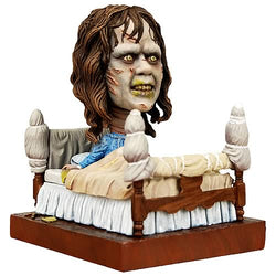 "The Exorcist 7"" Regan In Bed Resin Head Knocker Bobblehead"