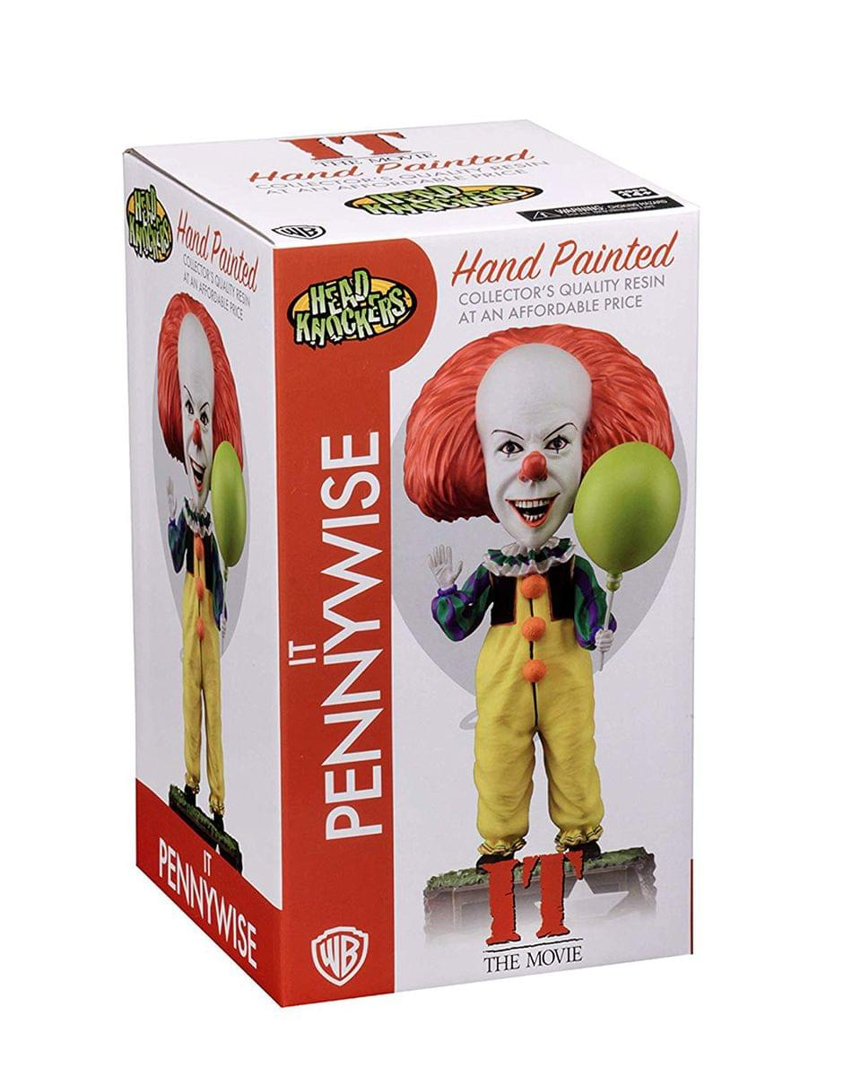 IT 1990 Pennywise 8-Inch Resin Head Knocker Bobblehead