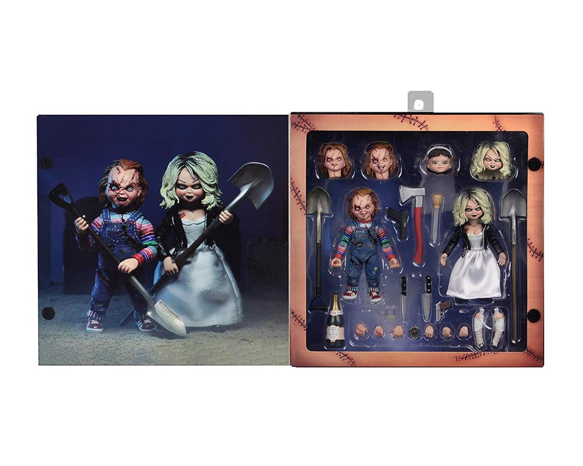 Bride of Chucky Ultimate Chucky & Tiffany 7 Inch Scale Action Figure 2 Pack