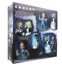 Load image into Gallery viewer, Bride of Chucky Ultimate Chucky & Tiffany 7 Inch Scale Action Figure 2 Pack