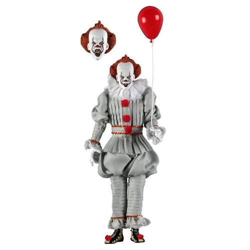 IT 2017 Pennywise 8 Inch Retro Action Figure