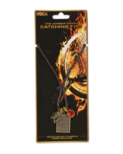 Hunger Games Catching Fire Mockingjay Charm Necklace