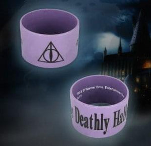 Harry Potter The Deathly Hallows Thick Silicone Bracelet