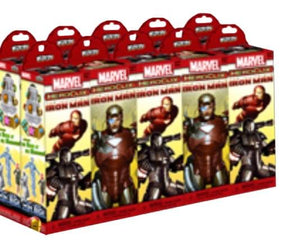 Iron Man Marvel Heroclix Booster Brick Blind Box Case Of 10