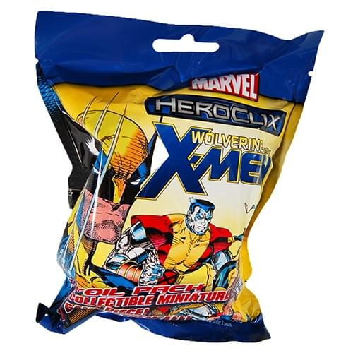 Neca HeroClix Marvel Wolverine and the X-Men Booster Pack