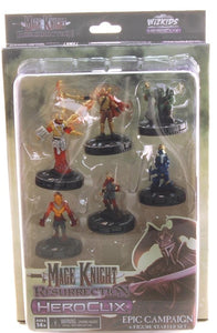 Mage Knight Resurrection Heroclix Epic Campaign Starter 6 Figure Set