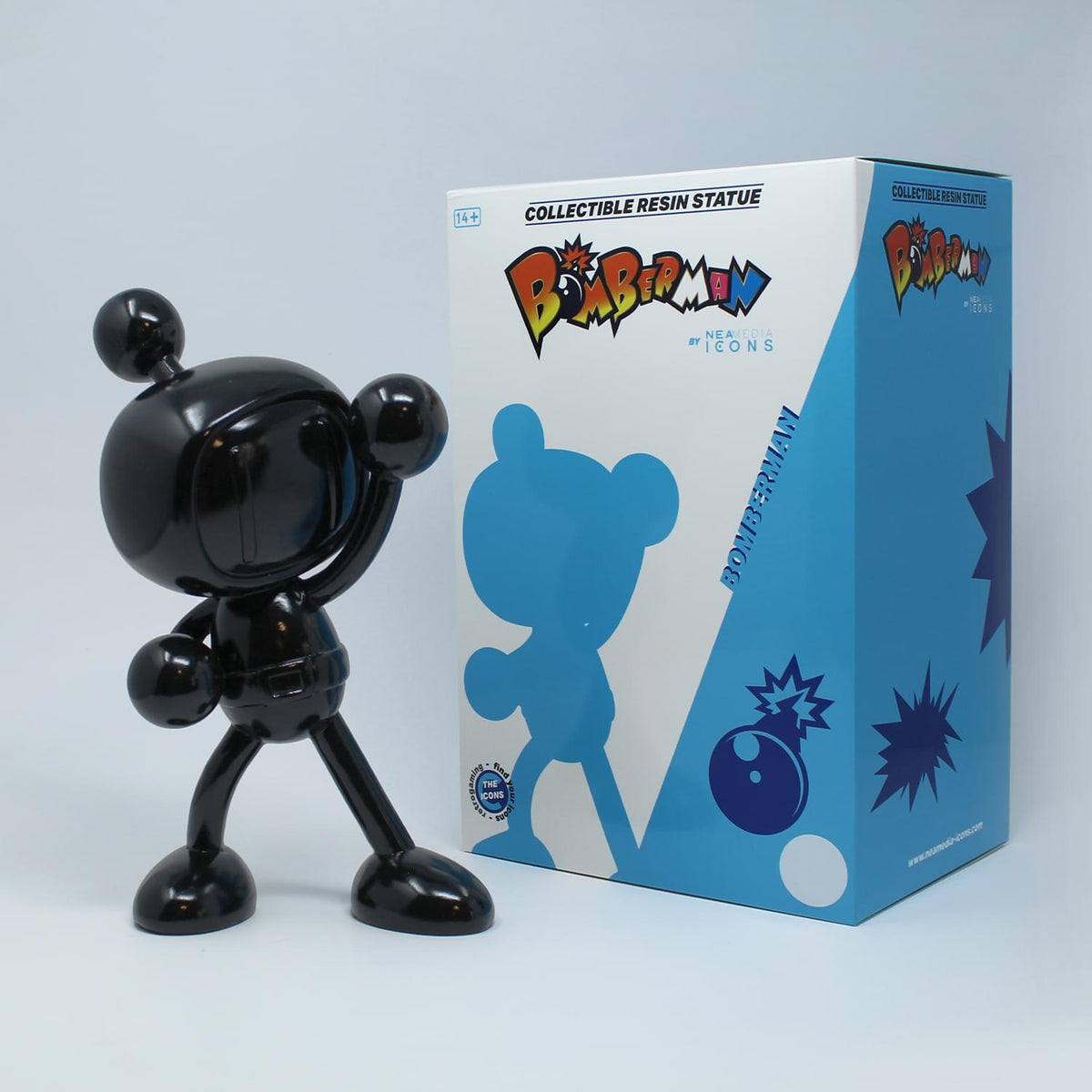 Bomberman Mini Icons 9.8 Inch Collectible Resin Statue | Black