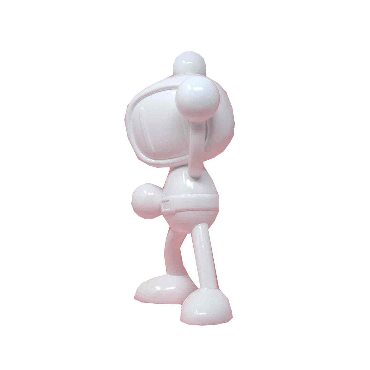 Bomberman Mini Icons 9.8 Inch Collectible Resin Statue | White