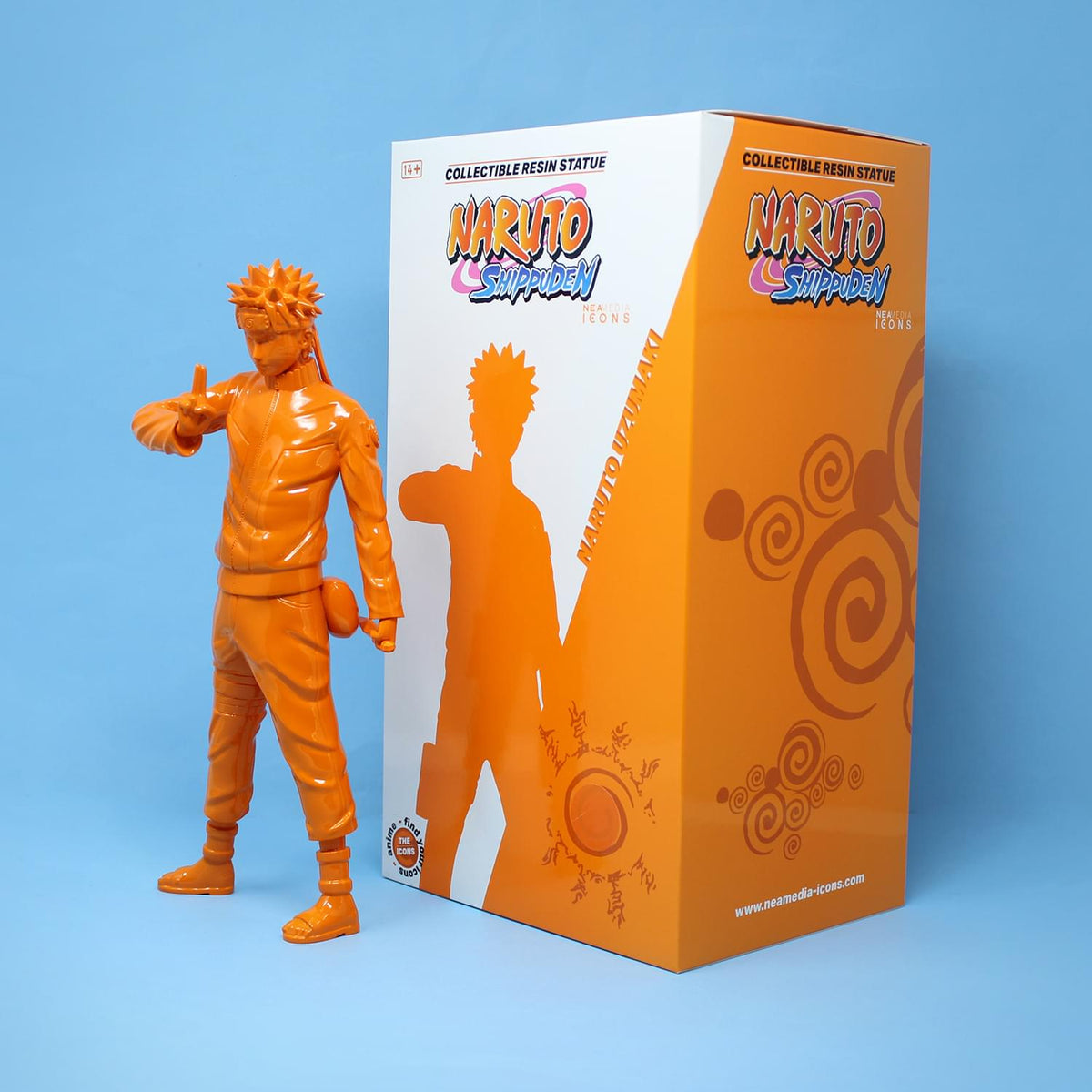 Naruto Icons 11.8 Inch Resin Figure | Orange