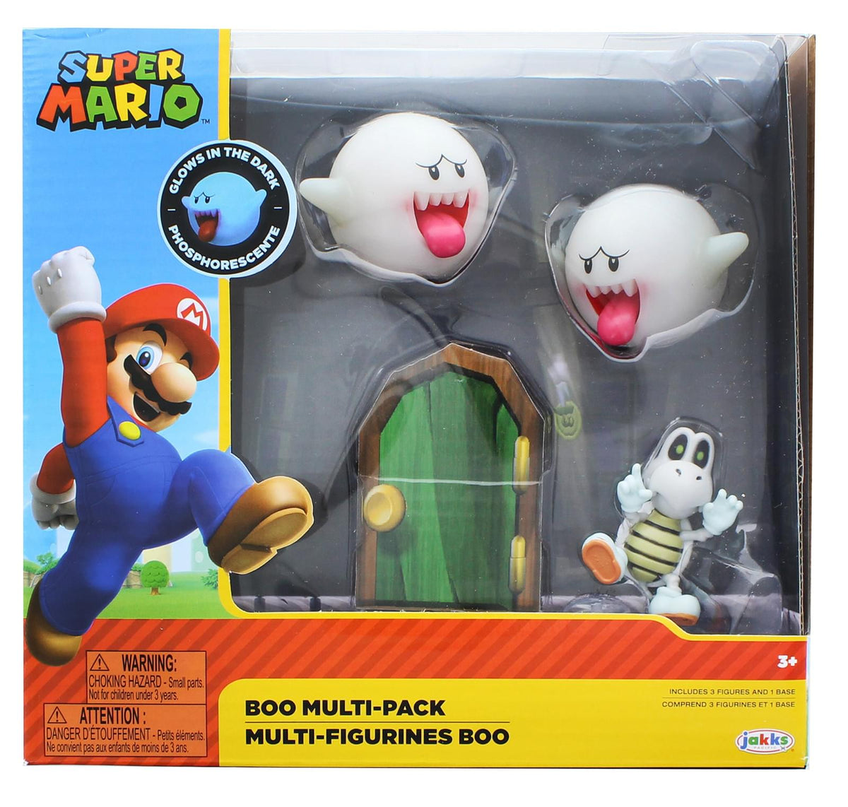 Super Mario World of Nintendo 2.5 Inch Figure Set | Boos & Dry Bones