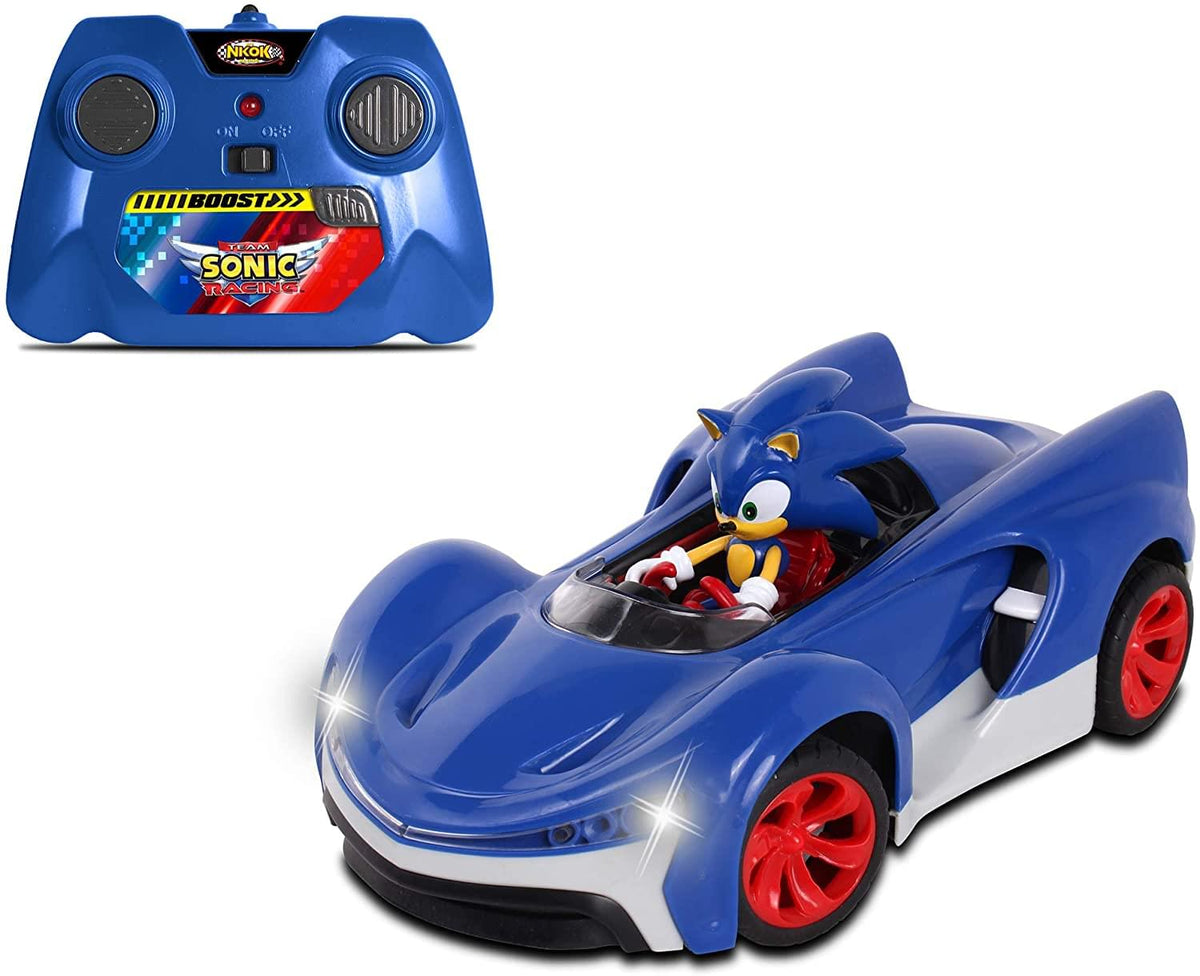 Sonic Racing 2.4Ghz Remote Controlled Car w/ Turbo Boost | Sonic The Hedgehog