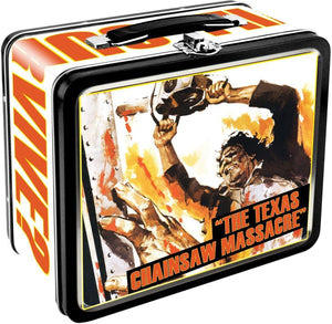 Texas Chainsaw Massacre Embossed Tin Lunch Box