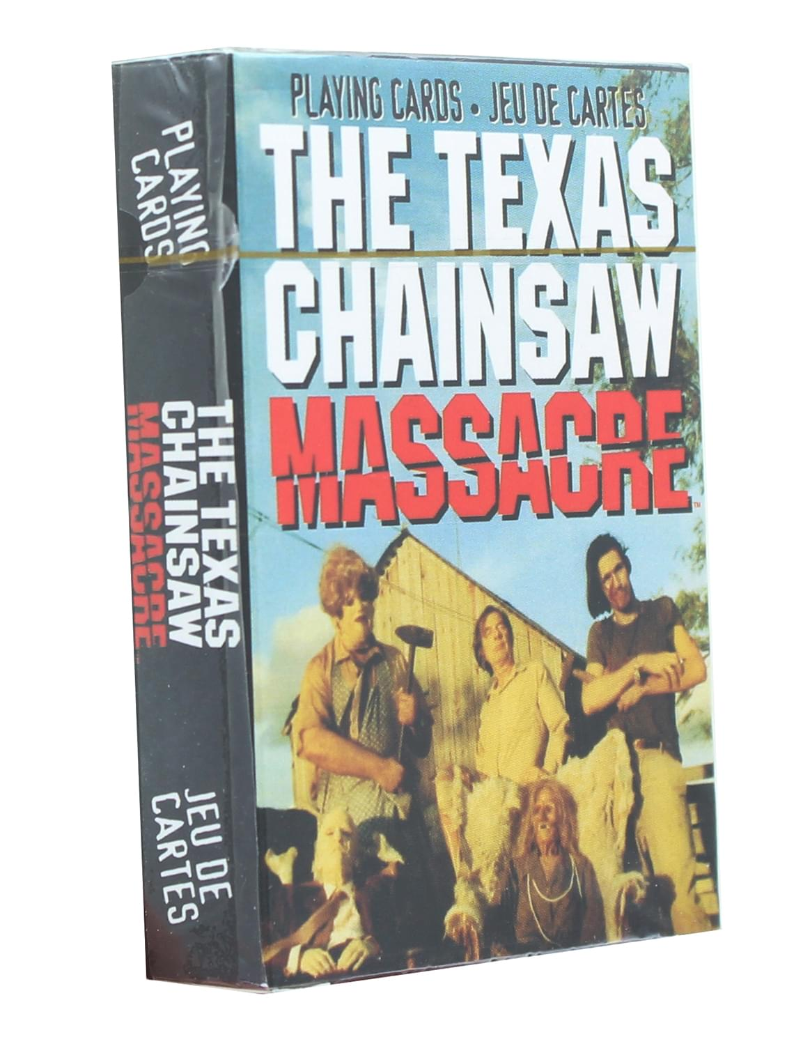 Texas Chainsaw Massacre Playing Cards | 52 Card Deck + 2 Jokers