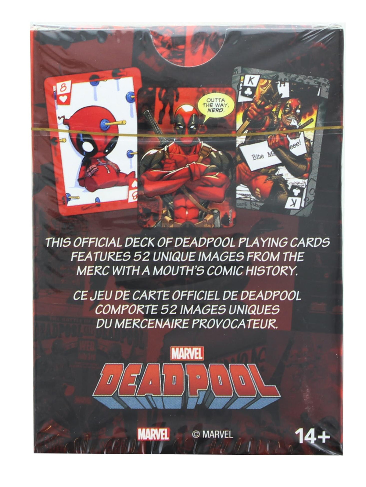 Marvel Deadpool Comics Playing Cards | 52 Card Deck + 2 Jokers