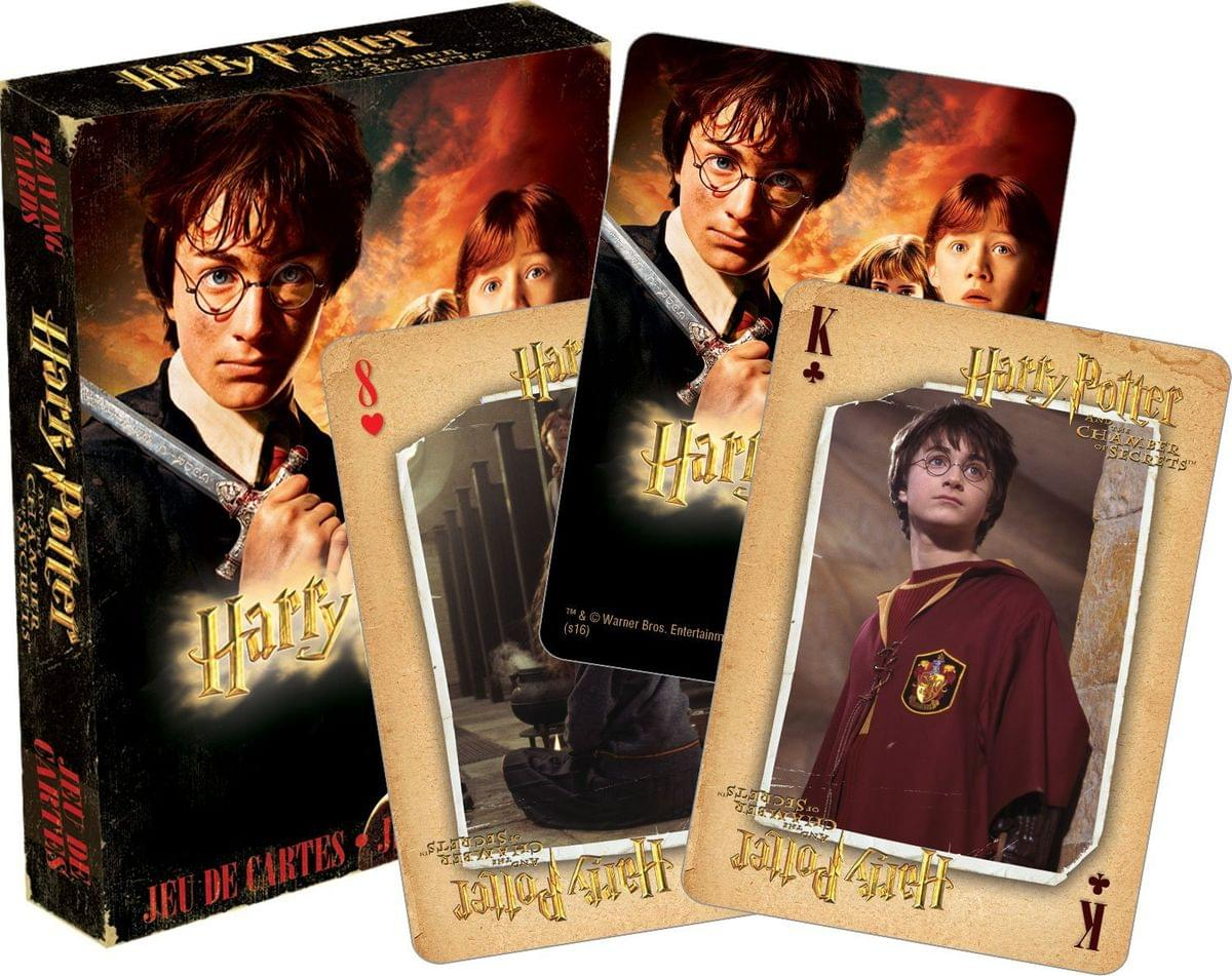 Harry Potter and the Chamber of Secrets Playing Cards