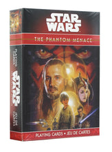 Load image into Gallery viewer, Star Wars The Phantom Menace Playing Cards
