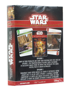 Star Wars The Phantom Menace Playing Cards
