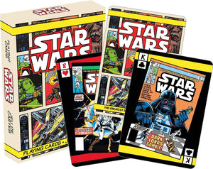 Star Wars Comic Book Covers Playing Cards | 52 Card Deck + 2 Jokers