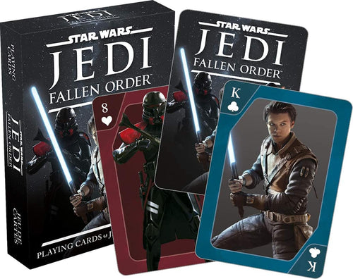 Star Wars Jedi Fallen Order Playing Cards | 52 Card Deck + 2 Jokers
