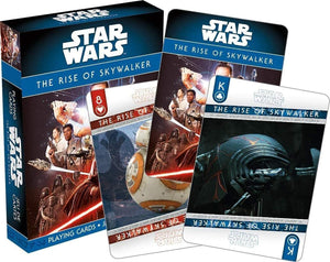 Star Wars The Rise of Skywalker Playing Cards | 52 Card Deck + 2 Jokers