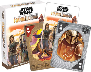 Star Wars The Mandalorian Playing Cards | 52 Card Deck + 2 Jokers
