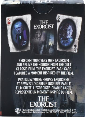 The Exorcist Playing Cards | 52 Card Deck + 2 Jokers