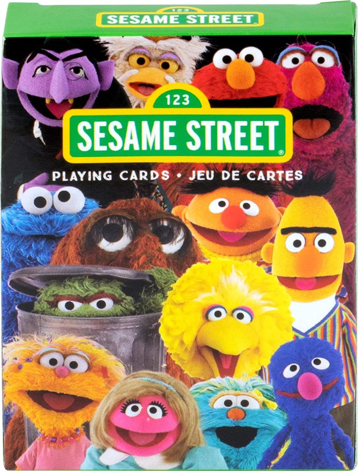Sesame Street Cast Playing Cards | 52 Card Deck + 2 Jokers