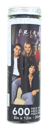 Friends Cast Mega Micro 600 Piece Jigsaw Puzzle Tube
