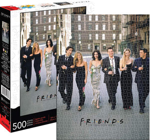 Friends Wedding 500 Piece Jigsaw Puzzle