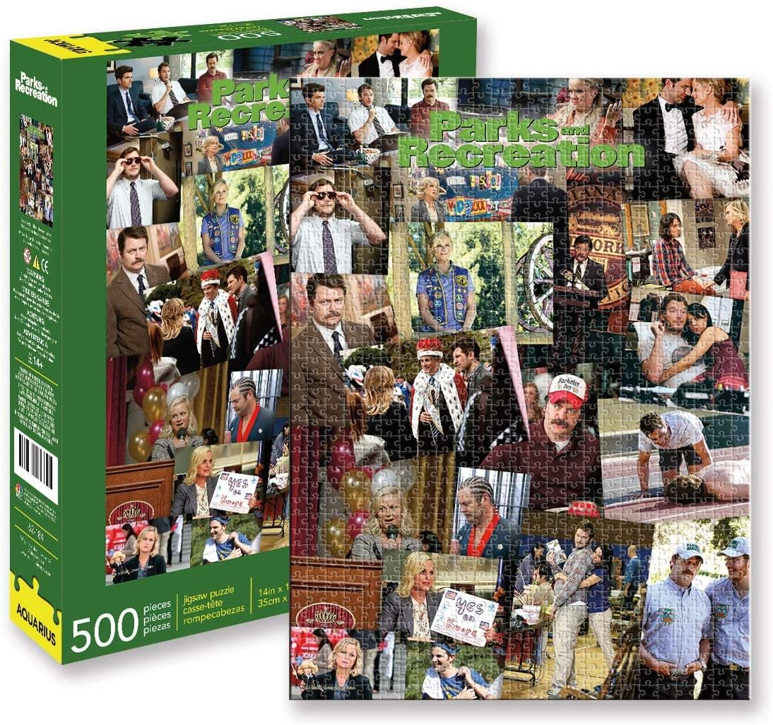 Parks and Recreation Collage 500 Piece Jigsaw Puzzle