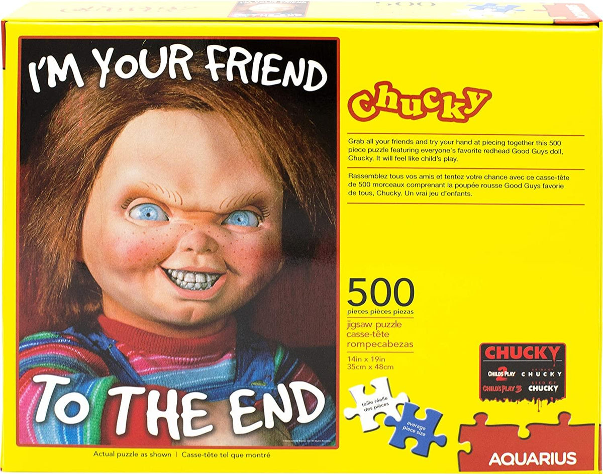 Childs Play Chucky 500 Piece Jigsaw Puzzle