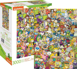 Nickelodeon Cast 3000 Piece Jigsaw Puzzle