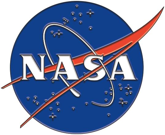 NASA Logo Enamel Collector Pin