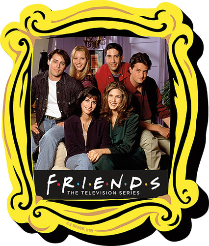 Friends Cast In Picture Frame Plastic Magnet