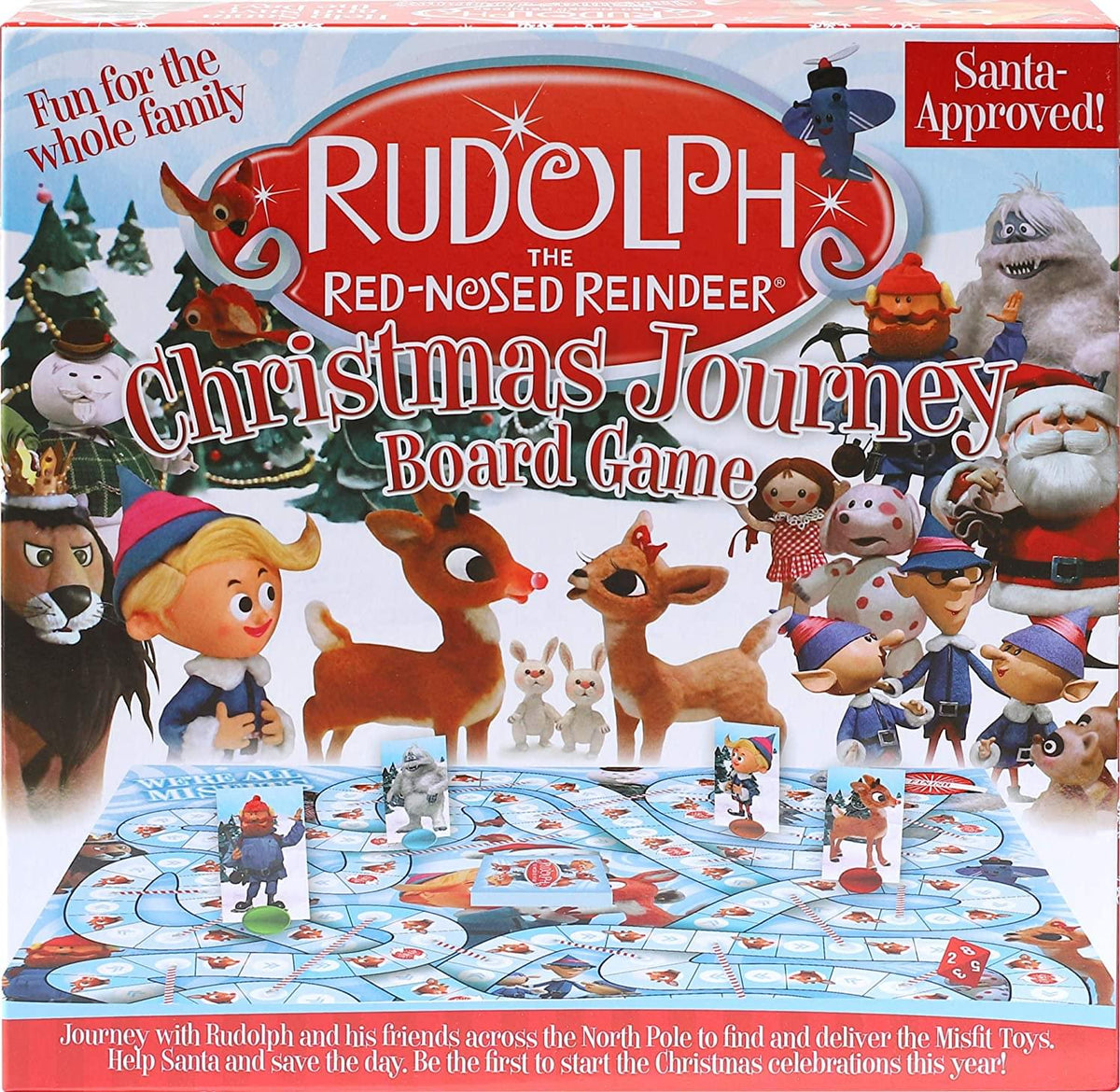 Rudolph The Red-nosed Reindeer Family Board Game