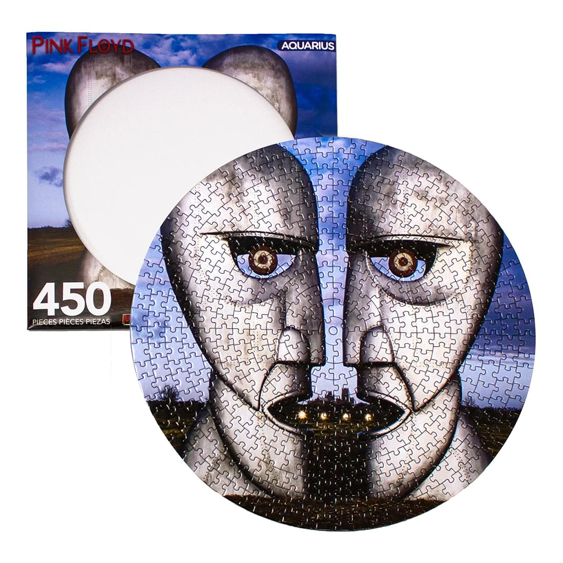 Pink Floyd Division Bell 450 Piece Picture Disc Jigsaw Puzzle