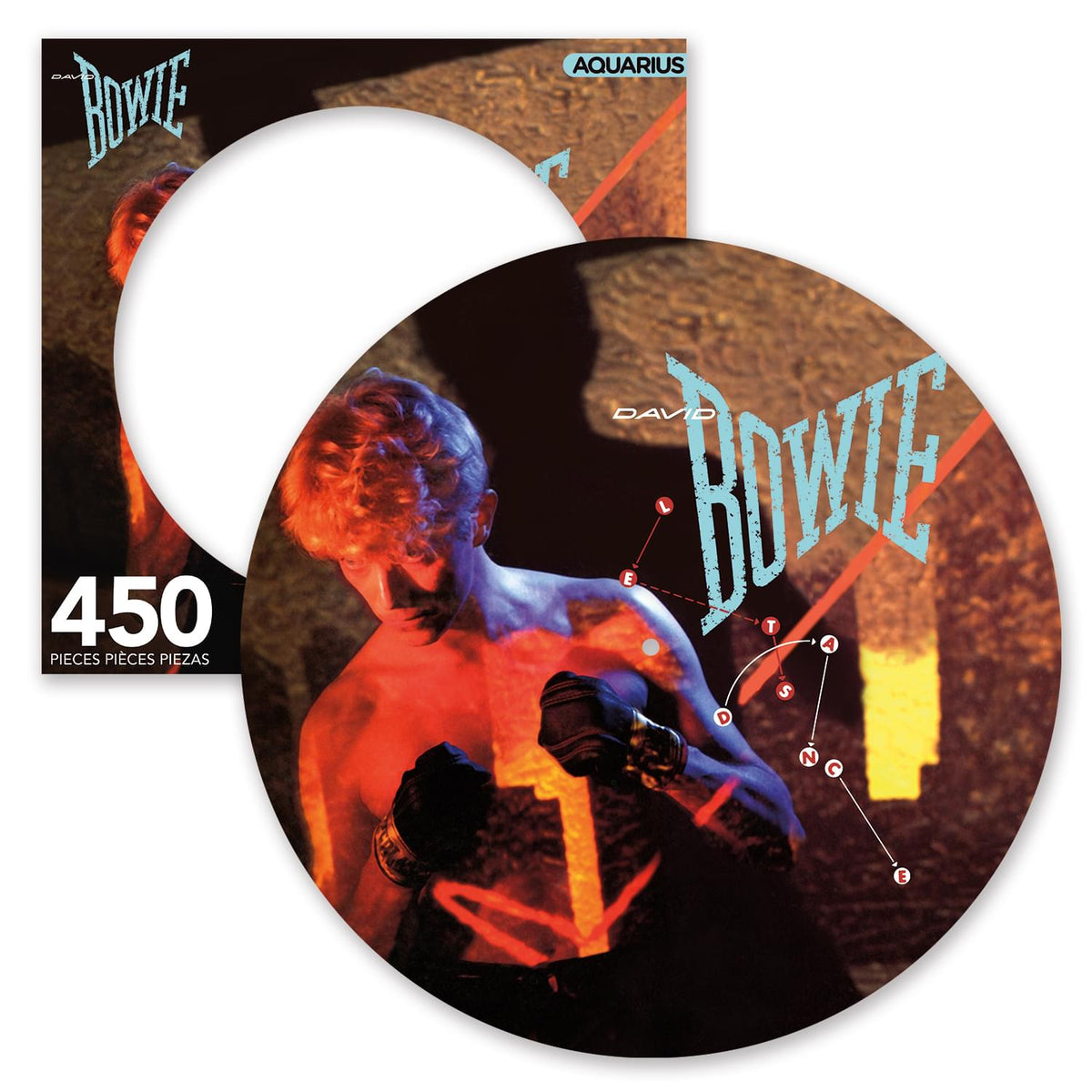 David Bowie Let's Dance 450 Piece Picture Disc Jigsaw Puzzle