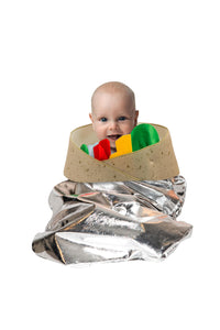 Burrito Unisex Pull Over Costume For Babies or Small Toddlers One Size Only