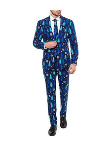 Winter Woods Men's Holiday Costume Suit - Size 46