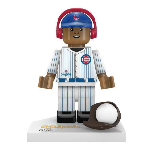Chicago Cubs 2016 World Series Champions Addison Russell #27 Minifigure