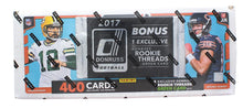 Load image into Gallery viewer, NFL Panini 2017 Donruss Football Trading Card Set with Rookie Threads Card