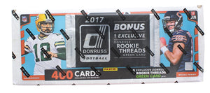 NFL Panini 2017 Donruss Football Trading Card Set with Rookie Threads Card