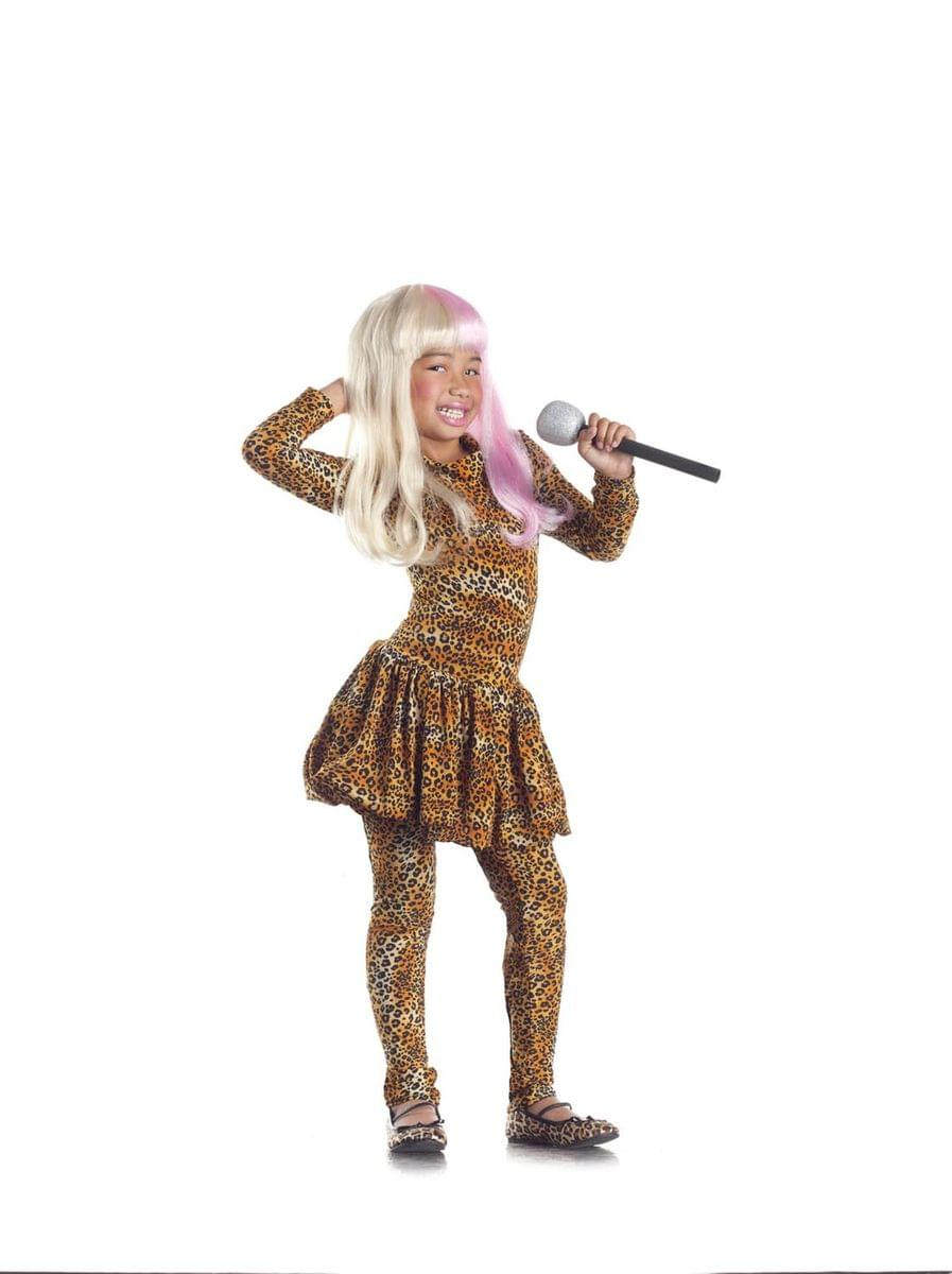 Leopard Rap Superstar Costume Child